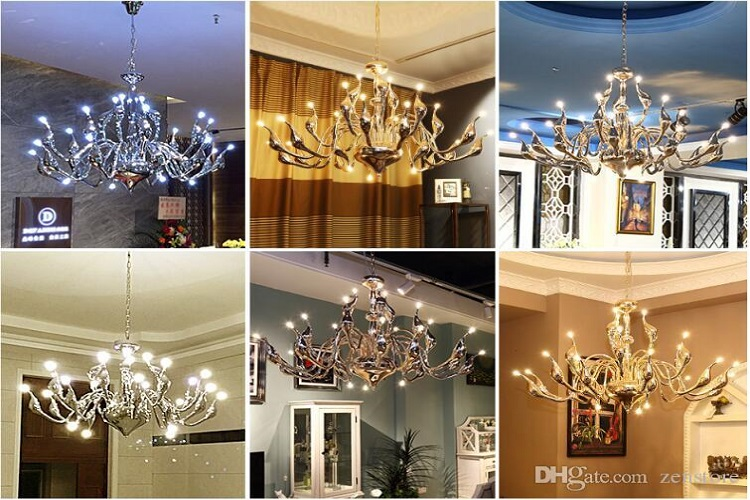 Picking a Modern Swan Chandelier to Fit in Today's Homes